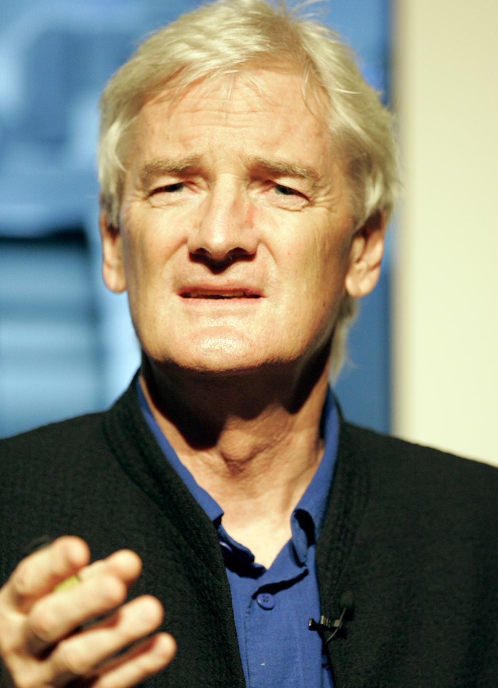 Why is james dyson hoovering up land who owns england for James dyson