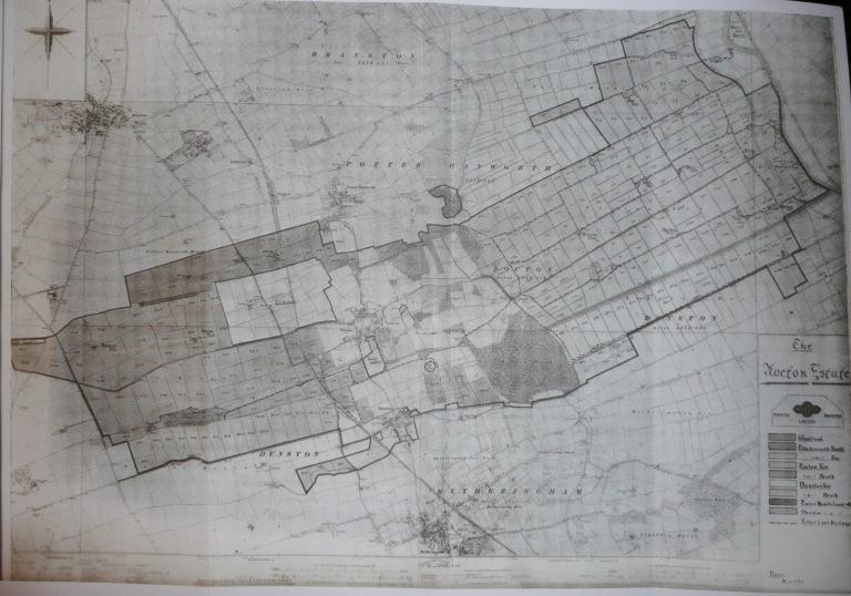 Nocton Estate map - Beeswax Farming Ltd